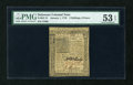 Colonial Notes:Delaware, Delaware January 1, 1776 2s/6d PMG About Uncirculated 53 EPQ....