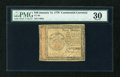 Colonial Notes:Continental Congress Issues, Continental Currency January 14, 1779 $40 PMG Very Fine 30....