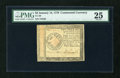 Colonial Notes:Continental Congress Issues, Continental Currency January 14, 1779 $2 PMG Very Fine 25....
