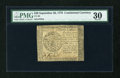 Colonial Notes:Continental Congress Issues, Continental Currency September 26, 1778 $40 PMG Very Fine 30....