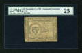 Colonial Notes:Continental Congress Issues, Continental Currency November 2, 1776 $8 PMG Very Fine 25....