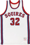 Basketball Collectibles:Uniforms, Julius Erving UDA Signed Jersey. ...