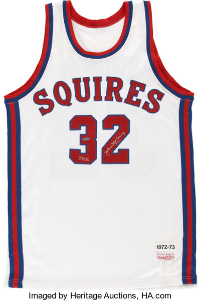 various colors f62e1 a918e Julius Erving UDA Signed Jersey. ... Basketball Collectibles ...