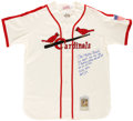 Autographs:Jerseys, Stan Musial UDA Signed Jersey. ...