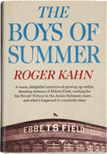 Autographs:Others, Roger Kahn's The Boys of Summer Signed Book. ...