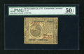 Colonial Notes:Continental Congress Issues, Continental Currency November 29, 1775 $6 PMG About Uncirculated 50EPQ....