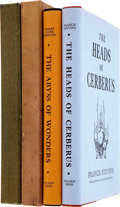 Books:First Editions, Polaris Press. Two Books, including: Frances Stevens. The Headsof Cerberus. 1952. [and:] Perley Poore She... (Total: 2 Items)