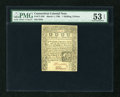Colonial Notes:Connecticut, Connecticut March 1, 1780 1s/3d Slash Cancel PMG About Uncirculated53 EPQ....