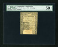 Colonial Notes:Connecticut, Connecticut June 1, 1775 40s Uncancelled PMG About Uncirculated 50 Net....
