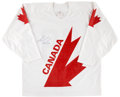 Hockey Collectibles:Uniforms, Mario Lemieux Signed Jersey. ...