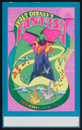 "Movie Posters:Animated, Fantasia (Buena Vista, R-1970). Midget Window Card (9"" X 14.5""). Animated.. ..."