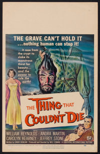 "The Thing That Couldn't Die (Universal International, 1958). Window Card (14"" X 22""). Horror"