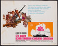 "Movie Posters:War, The Sand Pebbles (20th Century Fox, 1966). Half Sheet (22"" X 28"").War.. ..."