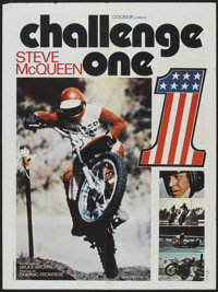 """On Any Sunday (Artcraft, 1971). French Affiche (23.5"""" X 31.5""""). Documentary. Known as Challenge One in Europe..."""