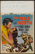 "Movie Posters:Western, The Wild North Lot (MGM, 1952). Window Cards (2) (14"" X 22""). Western.. ... (Total: 2 Items)"