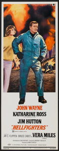 "Movie Posters:Action, Hellfighters (Universal, 1969). Insert (14"" X 36""). Action.. ..."