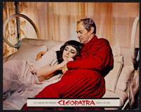 """Cleopatra (20th Century Fox, 1963). Deluxe Lobby Cards (6) (11"""" X 14""""). Historical Drama. ... (Total: 6 Items)"""