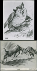 "Movie Posters:Animated, Bambi (RKO, 1942, R-1948, R-1957). Stills (4) (8"" X 10"").Animated.. ... (Total: 4 Items)"