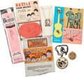 Music Memorabilia:Memorabilia, Beatles Assorted Memorabilia Items.... (Total: 7 Items)