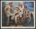 "Movie Posters:War, The Caine Mutiny (Columbia, 1954). Color Stills (3) (8"" X 10"").War.. ... (Total: 3 Items)"