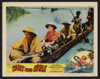 "Walk Into Hell (Patric, 1957). Lobby Card Set of 8 (11"" X 14""). Adventure. ... (Total: 8 Items)"
