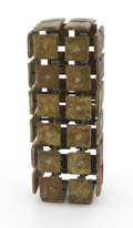 Fine Art - Sculpture, American:Contemporary (1950 to present), HARRY BERTOIA (American, 1915-1978). Untitled (MultiplaneConstruction), circa 1960s. Beryllium copper and brass. 16inc...