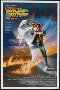 """Back to the Future (Universal, 1985). One Sheet (27"""" X 41""""). Science Fiction"""