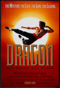 "Movie Posters:Action, Dragon: The Bruce Lee Story (Universal, 1993). One Sheet (26.75"" X 40"") SS Advance. Action.. ..."