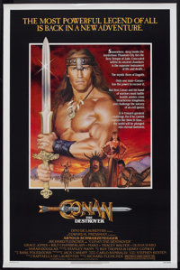 "Conan the Destroyer (Universal, 1984). One Sheet (27"" X 41""). Action"