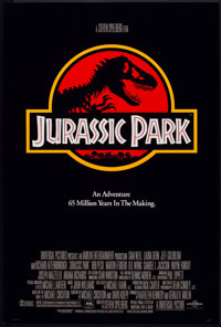 """Jurassic Park (Universal, 1993). One Sheet (27"""" X 40"""") DS. Science Fiction"""