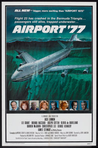 """Airport '77 Lot (Universal, 1977). One Sheets (2) (27"""" X 41""""). Thriller. ... (Total: 2 Items)"""