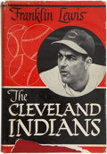 Autographs:Others, Cleveland Indians Signed Book. ...
