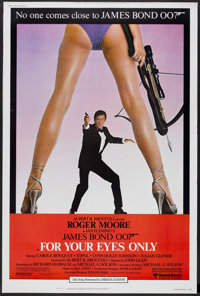 """For Your Eyes Only (United Artists, 1981). Poster (40"""" X 60""""). James Bond"""