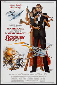 "Octopussy (MGM/UA, 1983). Poster (40"" X 60""). James Bond"