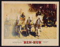 "Movie Posters:Historical Drama, Ben-Hur (MGM, 1959). Lobby Cards (2) (11"" X 14""). HistoricalDrama.. ... (Total: 2 Items)"