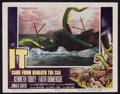 "Movie Posters:Science Fiction, It Came From Beneath the Sea (Columbia, 1955). Autographed LobbyCard (11"" X 14""). Science Fiction.. ..."