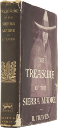 Books:First Editions, B. Traven. The Treasure of the Sierra Madre. New York:Alfred Knopf, 1935....