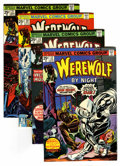 Bronze Age (1970-1979):Horror, Werewolf by Night Group (Marvel, 1974-76) Condition: AverageNM-.... (Total: 17 Comic Books)