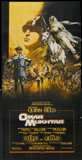 "Movie Posters:War, Lion of the Desert (Falcon International Productions, 1981).British Three Sheet (36.5"" X 80""). War. Known as OmarMukhtar..."