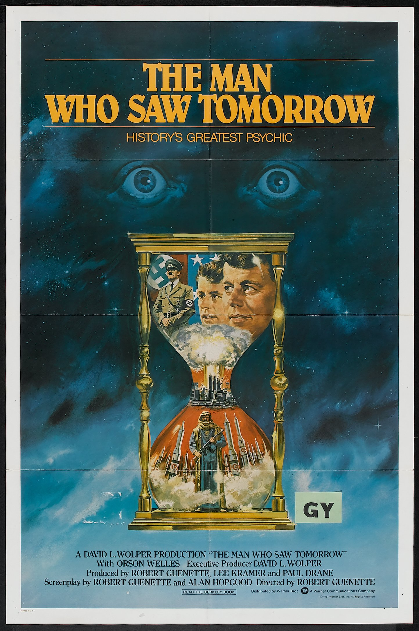 The Man Who Saw Tomorrow (Warner Brothers, 1981)  One Sheet