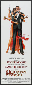 "Octopussy (MGM/UA, 1983). French Door Panel (22.75"" X 61.5"") Advance. James Bond"