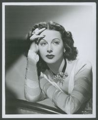 "Hedy Lamarr Lot (United Artists, 1947 & R-1960s). Stills (3) (8"" X 10""). Miscellaneous. ... (Total: 3 Item..."
