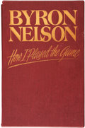 Golf Collectibles:Autographs, Byron Nelson Signed Book. ...