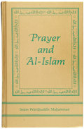 Boxing Collectibles:Autographs, Muhammad Ali Signed Prayer Book. ...