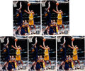 Basketball Collectibles:Photos, Kobe Bryant Signed Photographs Lot Of 5.. ... (Total: 5 items)