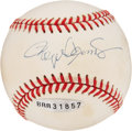 Autographs:Baseballs, Roger Clemens UDA Single Signed Baseball. ...
