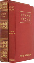 Books:First Editions, Edith Wharton. Ethan Frome. New York: Charles Scribner'sSons, 1911. ...
