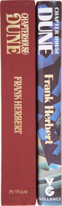Books:First Editions, Frank Herbert. Two First Editions, One Signed, including:Chapterhouse: Dune. Signed. [and:] Chapter House D...(Total: 2 Items)
