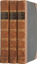 Books:Fiction, [Sir Walter Scott]. The Fortunes of Nigel. Edinburgh:Archibald Constable and Company, 1822. Three volumes. Quar...(Total: 3 Items)