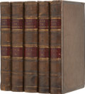 Books:First Editions, Robert and Samuel Wilberforce. The Life of WilliamWilberforce. London: John Murray, 1838. First edition. Fivet... (Total: 5 Items)